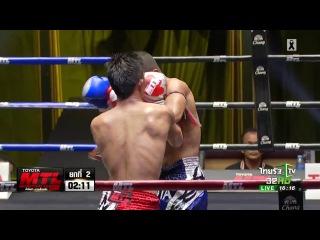 Toyota Muay Thai League: เดอะสตาร์ เกียรติเพชร VS ปีใหม่ ป กอบเ&#3585 toyota muay thai league: เดอะสตาร์ เกียรติเพชร vs ปีใหม่ ป