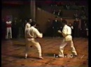 В И Зорин в действии Турнир по карате Москва 1990 год d ltqcndbb nehybh gj rfhfnt vjcrdf 1990 ujl