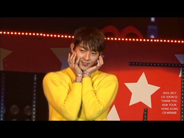 HD イジュンギ LEE JOON GI 李準基 TWICE TT DANCE COVER CUTE VER IN HK FM