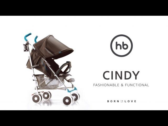 Happy Baby® CINDY - обзор всех функций прогулочной коляски