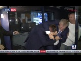 Драка Парасюка с Вилкулом на телеканале 112 Украина