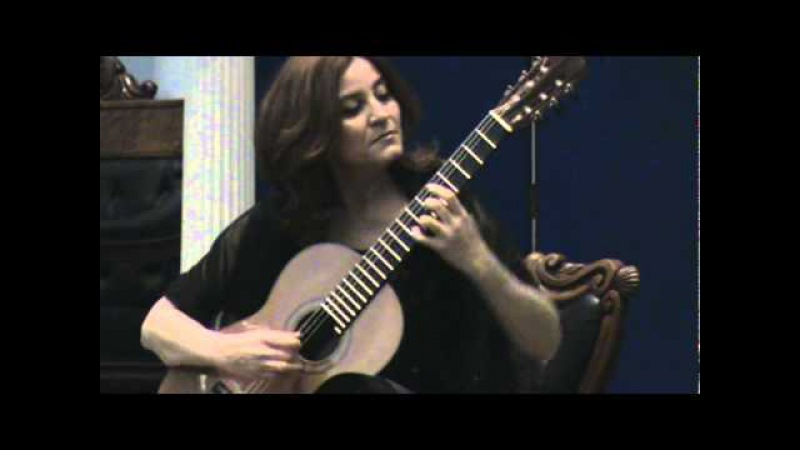 Berta Rojas nos dedica Danza Paraguaya en Dublin Irlanda