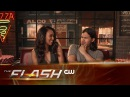 The Flash | Grab a Slice with Candice and Carlos | The CW
