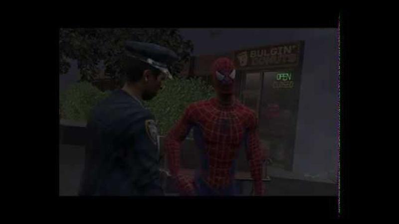Прохождение игры Человек Паук 3 Часть 11 ПРЕСЛЕДОВАНИЕ