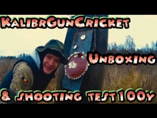 Kalibr Gun Cricket 2015 unbox & shooting test. Рейтинг Романыча 12 серия .