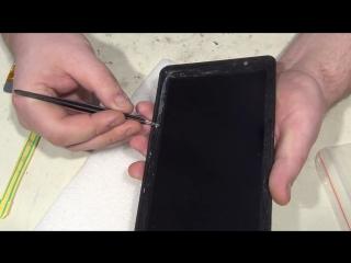 Меняем тачскрин на планшете Oysters T72 3G