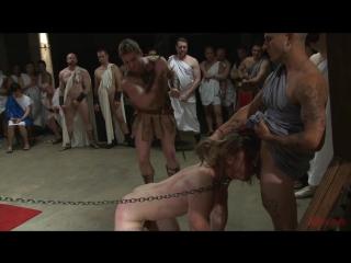 [BoundInPublic.com] PUNISH THE SLAVE (Kip Johnson) #gay #porn #orgy