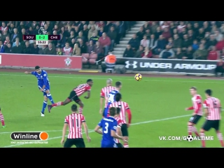 Саутгемптон  - Челси 0:2. Диего Коста