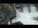 прыжок на резинке на Чемальской ГЭС