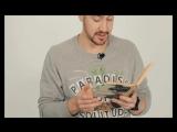 Денис читает любимое произведение