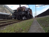 Zug um Zug im Urnerland + Fitnessfahrten der SBB Historic in Erstfeld - Bergstrecke