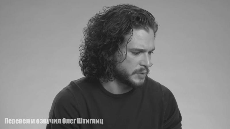 Как Джон Сноу подрался - Интервью 2016 (RUS VO)