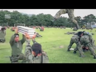 Спецназ Южной Кореи показывает свои возможности