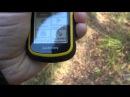 Garmin eTrex 10. Навигация в лесу.