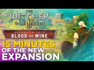 The Witcher 3: Wild Hunt - Blood and Wine / Gameplay