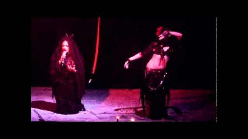 Ariellah and Diva Marisa at ShadowDance 2010