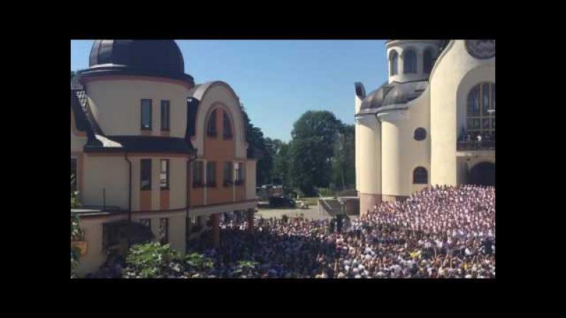 Гімн України у виконанні 775 хористів
