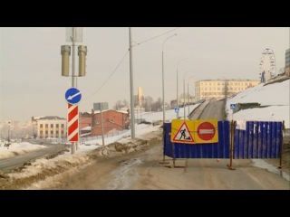 14 03 17 Пробки на набережной Ижевска