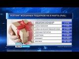Удмуртстат тем временем составил перечень самых популярных подарков к 8 марта