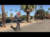 Neal Unger Skating Downtown Palm Springs