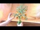 Дерево из бисера Оформление Мастер класс № 15