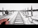 How To Draw Using 1-Point Perspective