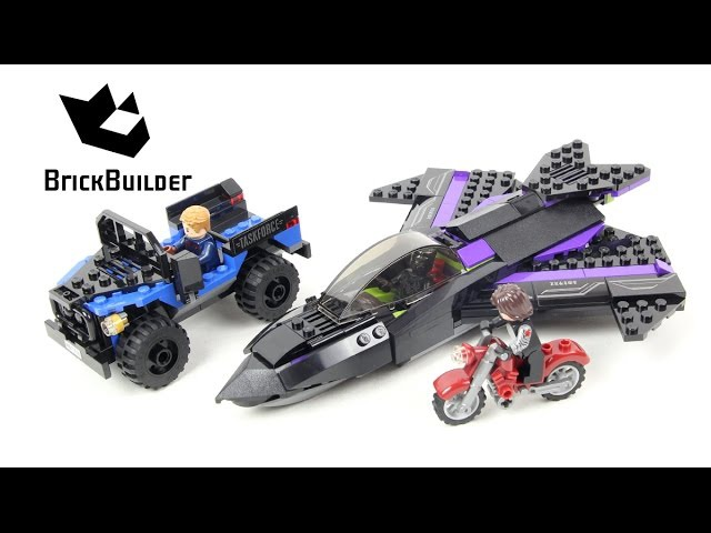 Lego Super Heroes 76047 Black Panther Pursuit Lego Speed Build