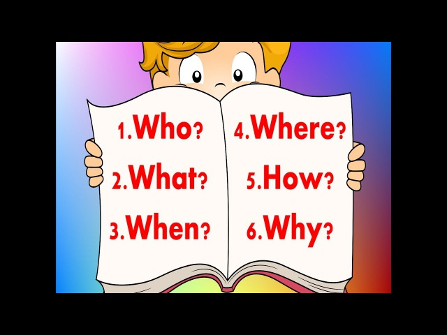 6 Questions | Fun Reading Writing Comprehension Strategy For Kids | Jack Hartmann