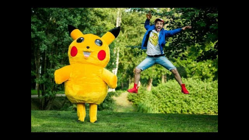 Поймать Пикачу / Pokemon Go Prank