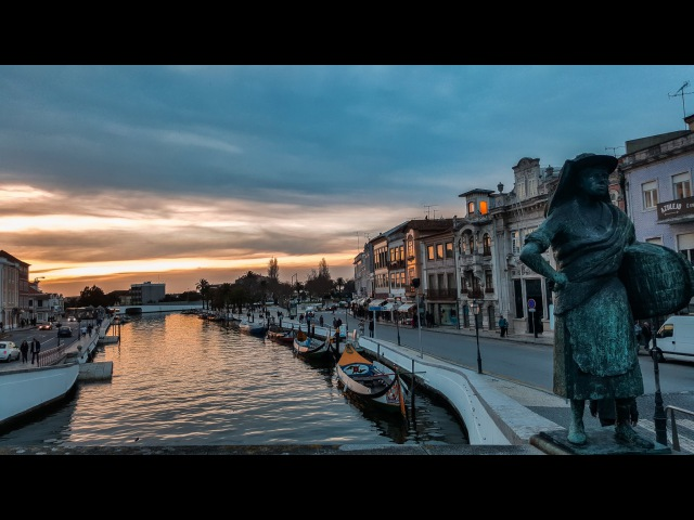 Португальская Венеция город Авейру