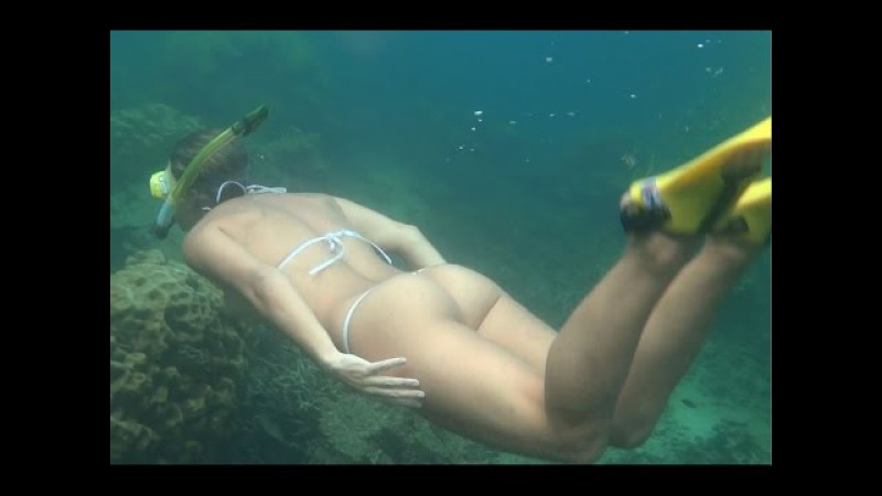 Gyrocopter Girl Aruba Snorkel with S Ibby E