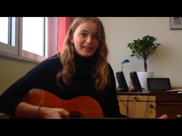 Cashi axede - გერმანელი გოგო მღერის ქართულად **denderah**
