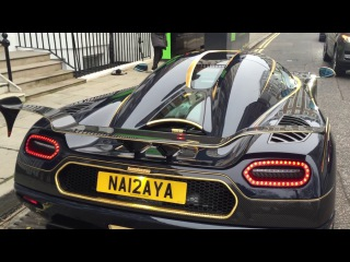 Koenigsegg Agera RS 'Naraya' reveal Start UP and first DRIVE IN LONDON