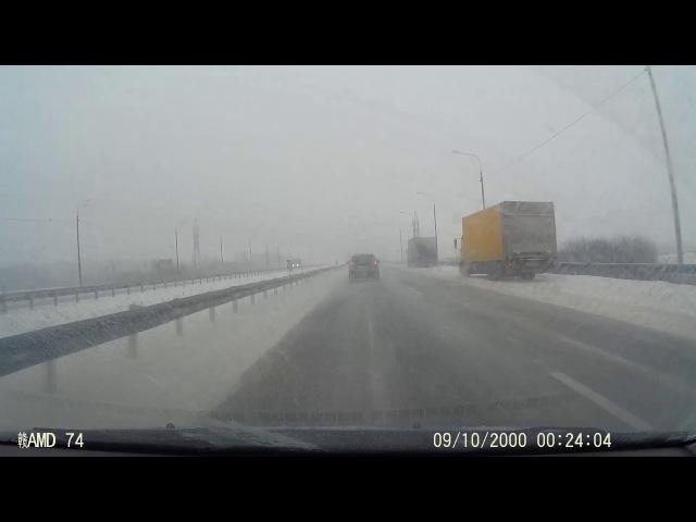 ДТП на трассе М4 12.11.2016 возле Ситне-Щелканово