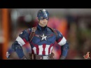 Фигурка Капитан Америка Avengers Age of Ultron Captain America Hot Toys