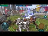Energy shield rebalance War Robots Test Server 2.6.1(191)