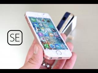Drop Test iPhone SE VS iPhone 5S | iPhone SE против iPhone 5S кто кого?