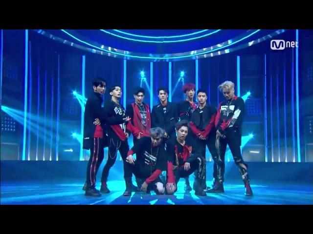 EXO「Monster」(2016年6月9日放送「M COUNTDOWN」)