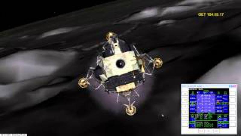 AMSO Mod Apollo 15 flight to the Moon - Step 5 of 5 Lunar Landing PDI