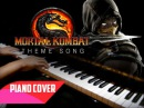 Mortal Kombat Theme Song (piano cover) FREE MUSIC SHEETS