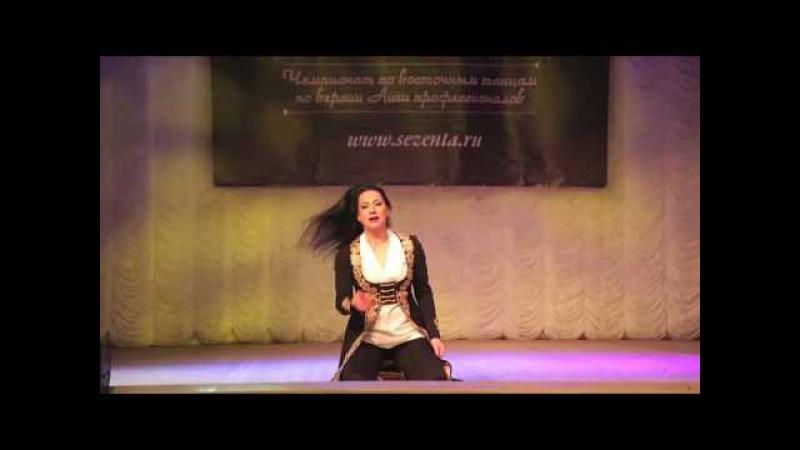 Елена Рамазанова. Raks al malak Novosibirsk 2016. Гала концерт. Танец 2.