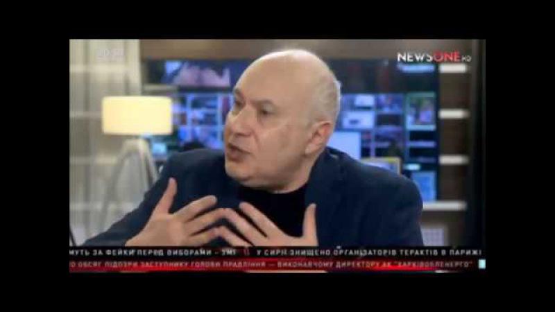 Рубилово Ганапольского с доктором наук Семченко на NewsOne 13 12 2016