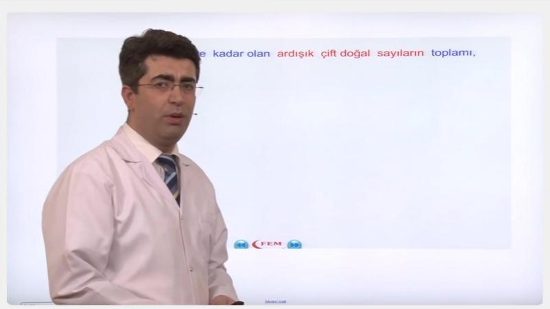YGS-LYS MATEMATİK - Toplam Çarpım - 1