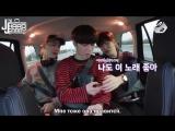 [GOT7s Hard Carry] Чжебом, Ёнджэ и Югём едут в аэропорт без менеджера. Эпизод 1-2 [русс. саб]