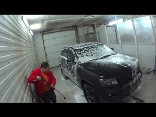 Как правильно мыть авто в жидкой резине