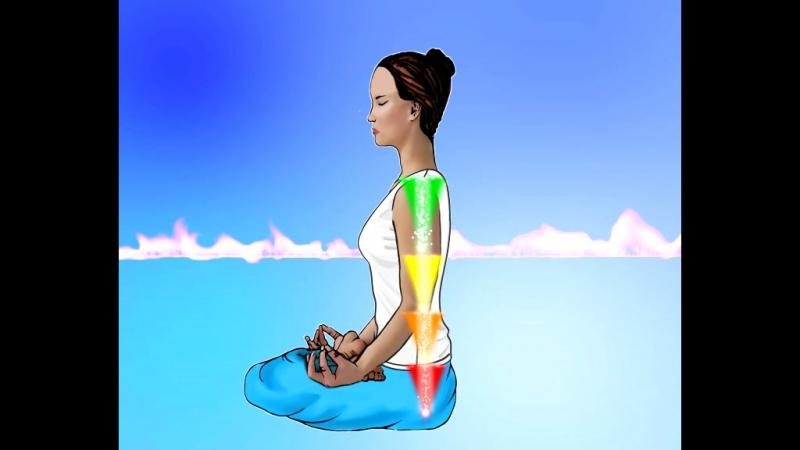 Индийские посвящения 2. Лайя-йога 4-х ступенчатая накачка чакр.