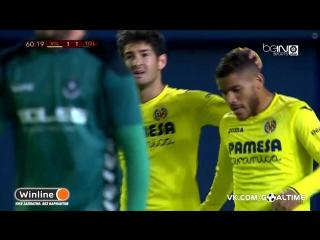 Вильярреал - Толедо 1:1. Голы матча. Кубок Испании 2016/17. 1/16 финала. 2-й матч.