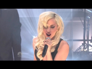 Lady Gaga - Bad Romance (Live @ Tonight Show)
