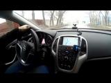 Тест драйв Opel Astra J после чип тюнинга