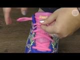Как завязывать беговые кроссовки